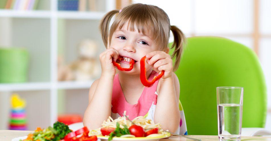 Gemüse-Kind