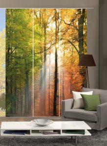 Großflächiger Sicht- und Sonnenschutz mit dem Flächenvorhang